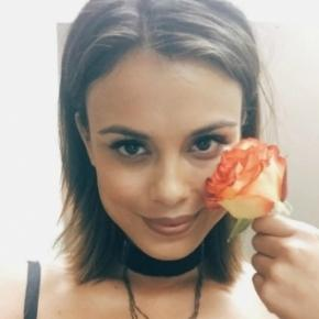 The Vampire Diaries: Nathalie Kelley (Sybil) / Enzo (Foto: Instagram e CW)