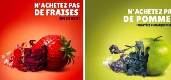 La campagne publicitaire de Biocoop signée Fred & Farid Paris, a valu à l'enseigne de produits bios une amende de 30.000€