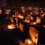 Nelle comunità di minoranza arbereshe della Calabria, il ricordo dei defunti dura una settimana e si conclude con un convivio di congedo sulle tombe