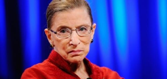 Liberal Supreme Court Justice Ruth Bader Ginsberg a.k.a. The Notorious RBG / Photo by Kevork Djansezian, Blasting News library