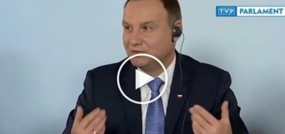 Andrzej Duda masakruje lewackie zachodnie media.