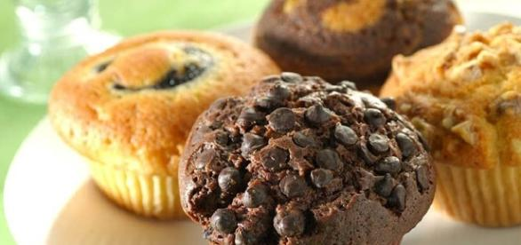Muffin. il dolce per la colazione