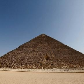 Marea Piramida de la Giza, din Egipt
