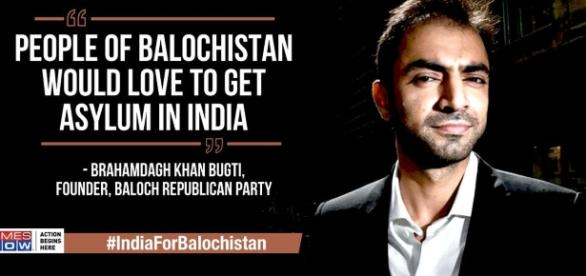 """Brahamdagh bugti speaks to @timesnow, says """"people of baloch want ... - scoopnest.com"""