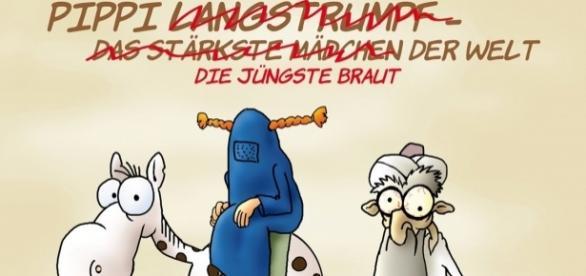 Niemiecka karykatura antyislamska