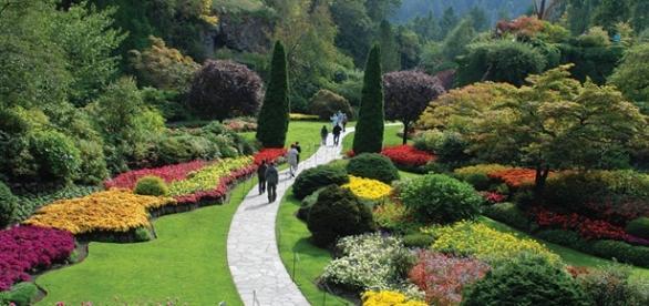 Os fabulosos Jardins de Butchart marcam a diferença