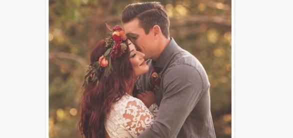 39 teen mom 2 39 chelsea houska shares wedding photo for Chelsea houska wedding dress designer