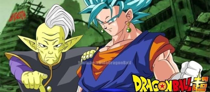 El Kaioshin Gowasu decide entregarles a Goku y Vegeta los pendientes para que realicen la fusión para batallar contra el enemigo