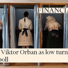 La Hongrie traditionaliste a voté pour Orban et « non » au référendum sur l'accueil des réfugies.