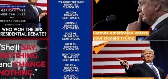 Donald Trump se vante de sondages fantaisistes le donnant largement gagnant : un déni de réalité