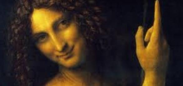 "Leonardo da Vinci's ""St. John the Baptist"" icon.org.uk"