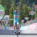 Vincenzo Nibali, la vittoria Risoul allo scorso Giro d'Italia
