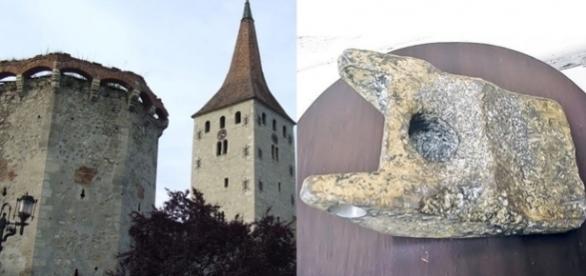 """Presa internațională a reaprins subiectul despre """"artefactul din aluminiu"""" de la Aiud"""