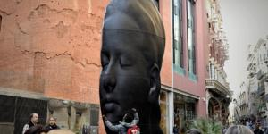 Carmela', la escultura de Plensa se queda ocho años más