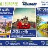 offerte lowcost capitali europee ponte ognissanti