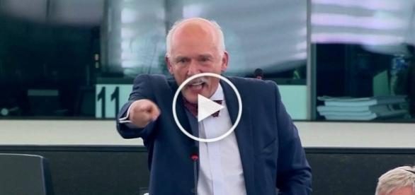 JKM masakaruje lewicowych polityków w PE.