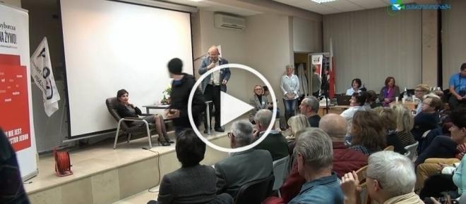 Dzika furia Michnika i KODziarzy na pozdrowienia dla brata redaktora Wyborczej [WIDEO]