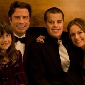 John Travolta and Kelly Preston family portrait. Credit: ABC news