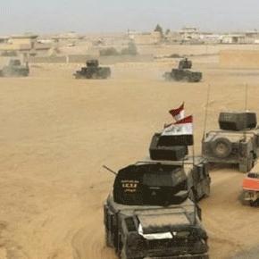 Les troupes irakiennes se regroupent au sud de Mossoul