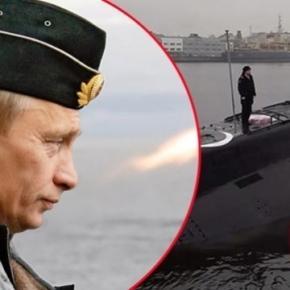 Submarinul super-invizibil care va fi dislocat în Marea Neagră din ordinul lui Vladimir Putin