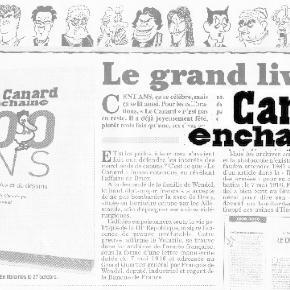 Un siècle de Canard enchaîné dans le livre de Rambaud, au Seuil
