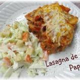 Lasagna de Papa, una de las comidas más ricas