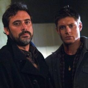 Jeffrey Dean Morgan and Jensen Ackles get into a tweeting crossover [Image via the WB]