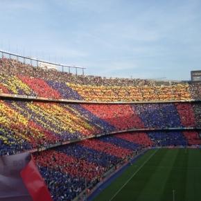 O Camp Nou vai encher para mais um jogo da Liga Espanhola