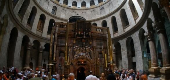 Biserica Sfântului Mormânt, locul unde este înmormântat Iisus Hristos