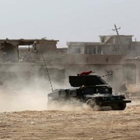 Kämpfe in und um Mossul gegen den IS.