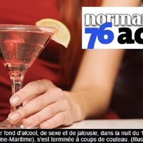 Normandie 76 Actu a trouvé une illustration sage pour un fait divers plus que corsé
