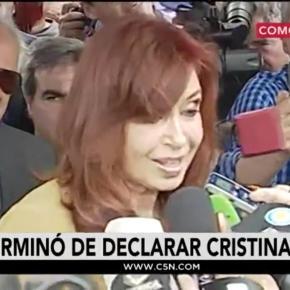 Cristina Kirchner acusada por lavado de dinero