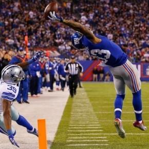 Hier Beckham Jr. auf SkySports.com mit seinem berühmten Catch.