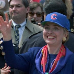 Hillary Clinton claims 2016 the year she and Cubs win - is this a jinx? Photo: Blasting News Library- usatoday.com