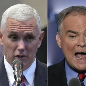 http://... - yahoo.com Pence and Kaine went at it and minced no words in Tuesdays vice-presidential debate.