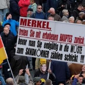 Tag der Deutschen Einheit in Dresden Foto: picture alliance / dpa
