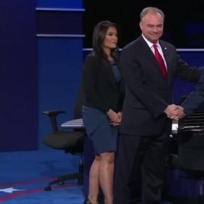 Kaine, Pence spar over Clinton, Trump in heated debate ... - washingtonexaminer.com