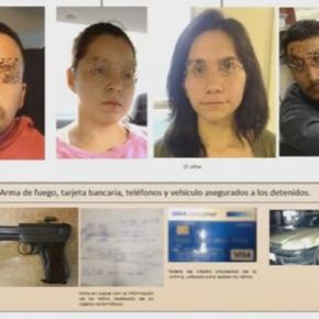 Los cuatro detenidos por los asesinatos