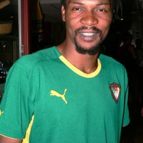 Rigobert Song:Cameroon's captain at the 2008 African Nations Cup in Ghana(c) Jake Brown via Wikimedia Commons