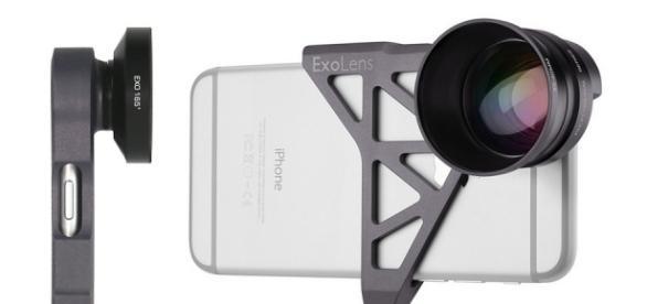 ExoLens Pro su iPhone 6s e 7 con lenti Zeiss