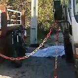 Alerta para o trágico acidente foi dado por cerca das 8 horas