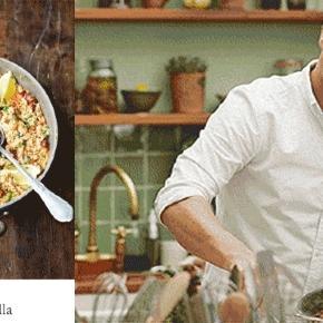 L'escandalo total. J'vous dis pas ! Du chorizo dans la paella de Jamie Oliver. Allo, allo, quoi !