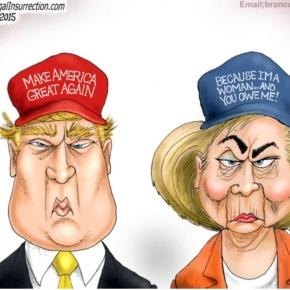 Trump vs. Clinton – Two Tweets That Say It All | Liberty Blitzkrieg ...- libertyblitzkrieg.com