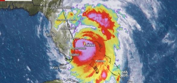 La dernière carte CNN donne l'ampleur des zones déjà touchées la nuit dernière