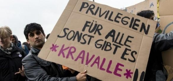 Anti-Abschiebungskundgebung in Hamburg – JUNGE FREIHEIT - jungefreiheit.de
