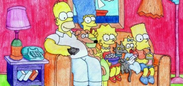 The Simpsons is almost like family at this point/ Photovia http://img05.deviantart.net/2849/i/2011/008/4/d/the_simpsons_woot_by_shinohaseo-d36qgon.jpg