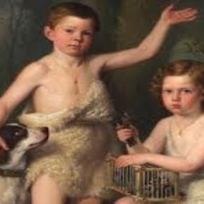 """Antonio Esquivel's """"Sons of HRH the Infanta Josefa Fernanda de Borbón"""" museodelprado.es creative commons"""