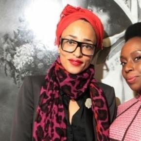 Books Live, Zadie Smith and Chimamanda Adichie.