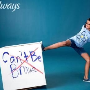 Campagne de publicité de Always.