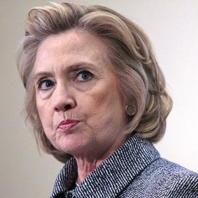 Hillary Clinton and the men who mowed her down. Photo: Blasting News Library - nationalreview.com